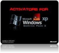 Активация Windows XP SP3 (активаторы, 2011)
