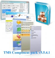 TMS Component Pack v5.5.4.1 (C++Builder, Delphi) Full Source