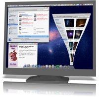 Mac Lion Skin Pack 9.0 for Windows 7 9.0 x86+x64 [2011, MULTILANG +RUS]
