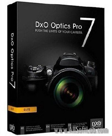 DxO Optics Pro 7.2.26014.134 Elite Edition