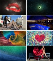 Colorful Wallpapers for desktop - Обои для ПК. Pack 110
